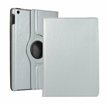 iPad 2020 Hoes - 10.2 Inch -  Draaibare Book Case - Zilver
