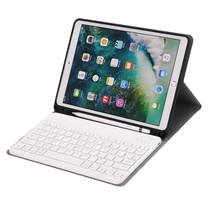 iPad 2020 hoes - 10.2 inch - Bluetooth Toetsenbord Case met Stylus pen houder - Goud