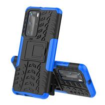Huawei P40 Pro Plus Hoesje - Schokbestendige Back Cover - Blauw
