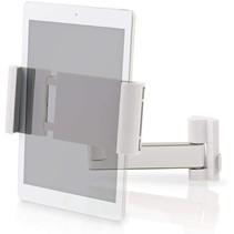 Universele Tablet Houder - Verstelbare Tablet Muurbeugel - Wit