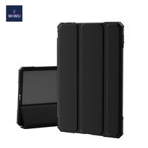 iPad Air 10.9 2020 hoes - Wiwu Extreme Tri-Fold Case - Zwart