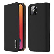iPhone 12 Pro Max hoesje - Dux Ducis Wish Wallet Book Case - Zwart