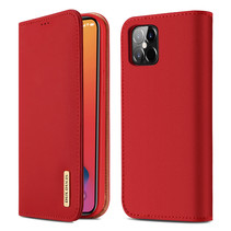 iPhone 12 Pro Max hoesje - Dux Ducis Wish Wallet Book Case - Rood
