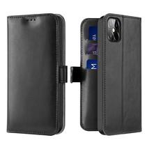 iPhone 12 Pro Max Hoesje - Dux Ducis Kado Wallet Case - Zwart