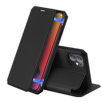 iPhone 12 hoesje - Dux Ducis Skin X Case - Zwart