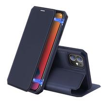 iPhone 12 hoesje - Dux Ducis Skin X Case - Blauw