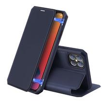 iPhone 12 Pro Max hoesje - Dux Ducis Skin X Case - Blauw