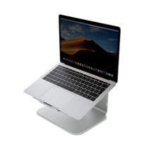 LMP - Ergonomische laptop standaard - Laptophouder - Geschikt voor 12 tot 17 inch - Aluminium - Space Grey
