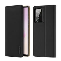 Samsung Galaxy Note 20 Ultra hoesje - Dux Ducis Wish Wallet Book Case - Zwart