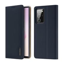 Samsung Galaxy Note 20 Ultra hoesje - Dux Ducis Wish Wallet Book Case - Blauw