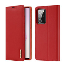 Samsung Galaxy Note 20 Ultra hoesje - Dux Ducis Wish Wallet Book Case - Rood