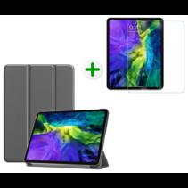 iPad Pro 2020 Hoes en Screenprotector - 11 inch - Tablet hoes en Screenprotector - Grijs