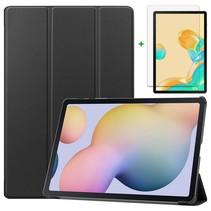 Samsung Galaxy Tab S7 Plus Hoes en Screenprotector - 12.4 inch - Tablet hoes en Screenprotector  - Zwart