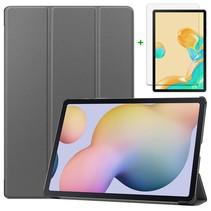 Samsung Galaxy Tab S7 Plus Hoes en Screenprotector - 12.4 inch - Tablet hoes en Screenprotector  - Grijs