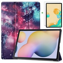 Samsung Galaxy Tab S7 Plus Hoes en Screenprotector - 12.4 inch - Tablet hoes en Screenprotector  - Galaxy