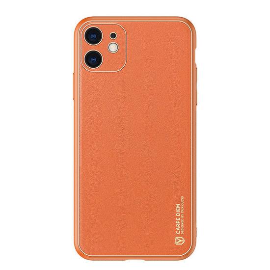 Dux Ducis iPhone 11 Hoesje - Dux Ducis Yolo Case - Oranje