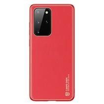 Samsung Galaxy S20 Plus Hoesje - Dux Ducis Yolo Case - Rood