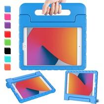 iPad 10.2 2019 / 2020 / 2021 hoes - Schokbestendige case met handvat - Blauw