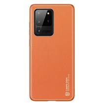 Samsung Galaxy S20 Ultra Hoesje - Dux Ducis Yolo Case - Oranje