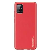 Samsung Galaxy A71 Hoesje - Dux Ducis Yolo Case - Rood