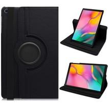 Samsung Galaxy Tab A 10.1 (2019) hoes - Draaibare Book Case  - Zwart