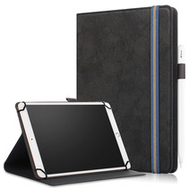 Universele Lenovo Tablet Hoes - Wallet Book Case - Auto Sleep/Wake - Zwart
