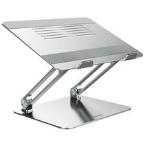 Nillkin - Ergonomische Laptop Standaard - Verstelbaar - Geschikt voor 12 tot 17 inch - Aluminium - Zilver