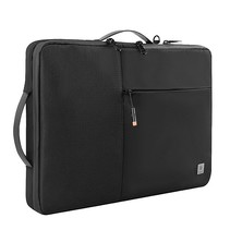 WIWU - Laptop Sleeve - 14 inch - Alpha Double Layer - Waterafstotend - Laptop tas - Zwart