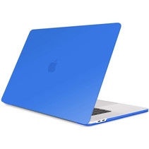 Macbook Pro 13 inch (2020) cover - Laptop Case - Plastic Hard Cover - Blauw