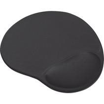 Ergonomische Muismat - Muismat met gel polssteun - Zwart