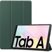 Samsung Galaxy Tab A7 (2020) hoes - Tri-Fold Book Case - Donker Groen
