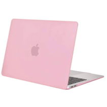 Macbook Pro 13 inch (2020) cover - Laptop Case - Plastic Hard Cover - Roze
