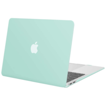 Macbook Pro 13 inch (2020) cover - Laptop Case - Plastic Hard Cover - Groen