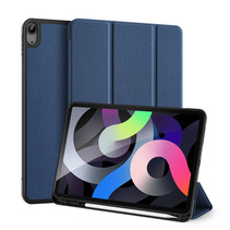 iPad Air 10.9 (2020) hoes - Dux Ducis Domo Book Case - Blauw