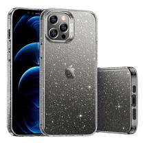 ESR Shimmer - iPhone 12 / iPhone 12 Pro Hoes - Schokbestendige Back Cover - TPU Back Cover - Transparant
