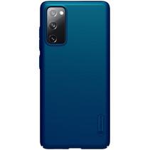 Nillkin - Samsung Galaxy S20 FE Hoesje - Super Frosted Shield - Back Cover - Blauw
