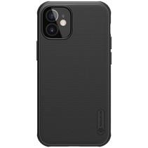 Nillkin - iPhone 12 Mini  hoesje - Super Frosted Shield Pro - Back Cover - Zwart