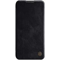 Huawei P40 Lite Hoesje - Qin Leather Case - Flip Cover - Zwart