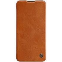 Huawei P40 Lite Hoesje - Qin Leather Case - Flip Cover - Bruin