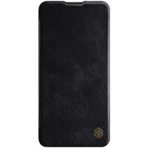 Nillkin - Huawei P40 Hoesje - Qin Leather Case - Flip Cover - Geschikt voor 2 pasjes - Zwart
