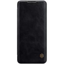Nillkin - Huawei P40 Pro Plus Hoesje - Qin Leather Case - Flip Cover - Geschikt voor 2 pasjes - Zwart
