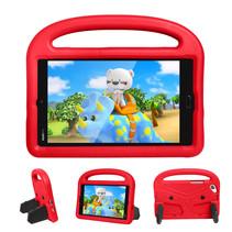 Huawei Mediapad M3 Lite /  M5 Lite hoes - 8.4 inch - Schokbestendige case met handvat - Sparrow Kids Cover - Rood