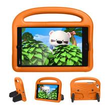 Huawei Mediapad M3 Lite /  M5 Lite hoes - 8.4 inch - Schokbestendige case met handvat - Sparrow Kids Cover - Oranje
