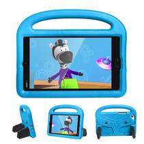 Huawei Mediapad M3 Lite /  M5 Lite hoes - 8.4 inch - Schokbestendige case met handvat - Sparrow Kids Cover - Licht Blauw