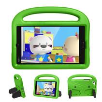 Huawei Mediapad M3 Lite /  M5 Lite hoes - 8.4 inch - Schokbestendige case met handvat - Sparrow Kids Cover - Groen