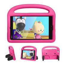 Huawei Mediapad M3 Lite /  M5 Lite hoes - 8.4 inch - Schokbestendige case met handvat - Sparrow Kids Cover - Magenta
