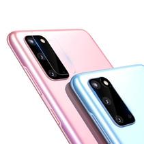 Nillkin - Samsung Galaxy S20 - Full Cover Camera lens screenprotector - Tempered Glass - Transparant (2-Pack)