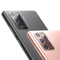 Nillkin - Samsung Galaxy Note 20 - Full Cover Camera lens screenprotector - Tempered Glass - Transparant (2-Pack)