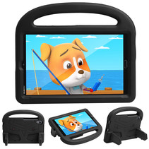Huawei Mediapad M5/M6 Hoes - 8.4 inch - Schokbestendige case met handvat - Sparrow Kids Cover - Zwart