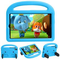 Huawei Mediapad M5/M6 Hoes - 8.4 inch - Schokbestendige case met handvat - Sparrow Kids Cover - Licht Blauw